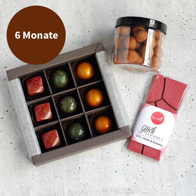 Pralinenabo / Schokoladenabo (25 €) mittel für 6 Monate