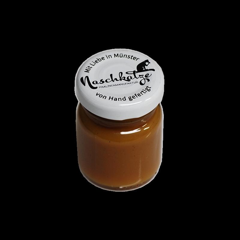 Karamell-Meersalz im 40g Gläschen (als Brotaufstrich / Topping)