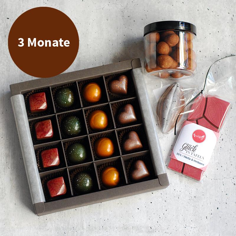 Pralinenabo / Schokoladenabo groß für 3 Monate
