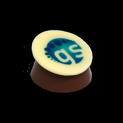 Logopralinen lose (Wunschpralinen mit Logo)