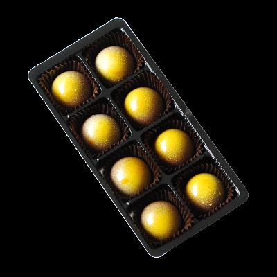 8er Packung Zitronentrüffel