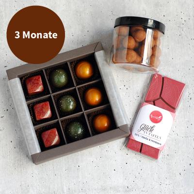 Pralinenabo / Schokoladenabo (25 €) mittel für 3 Monate