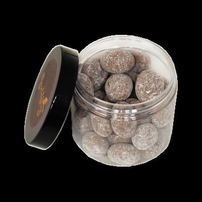 LuxusNuss Piemonteser Haselnüsse in Vollmilchschokolade mit Spekulatius (120g)