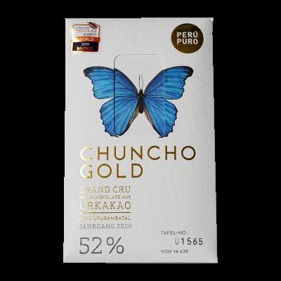 Perú Puro Chuncho Gold Grand Cru 52% Bean to Bar
