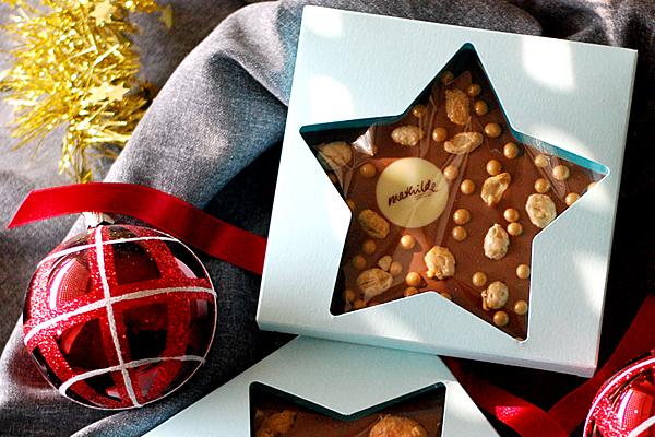 Weihnachtsgeschenke, Schokoladenpräsente, Firmenpräsente zu Weihnachten
